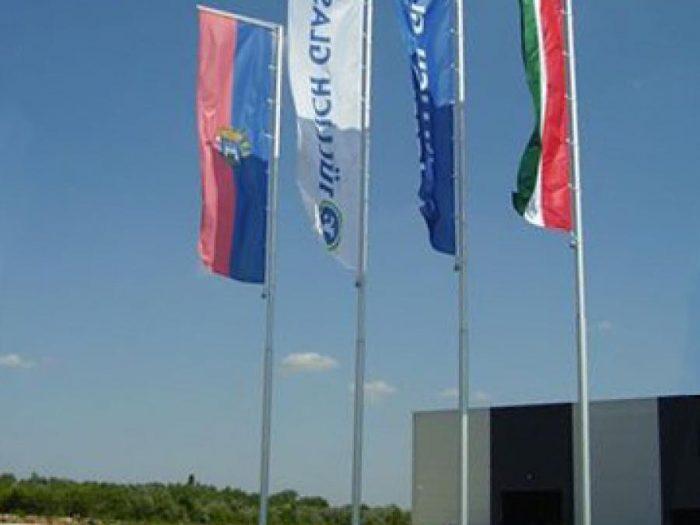 Kültéri zászló